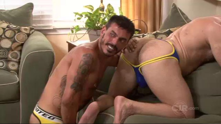 Hairy Holes and Horny Fuckers, starring Shay Michaels, Brian Davilla and Collin Stone, produced by Channel 1 Releasing and Catalina. Video Categories: Safe Sex, Anal, Muscles, Threeway, Bear and Mature.