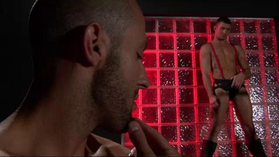 Style, Flirtation and Contact at the Sex Club, starring Russ Ryan and Brant Dickson, produced by Channel 1 Releasing. Video Categories: Muscles, Fetish, Blowjob and Anal.