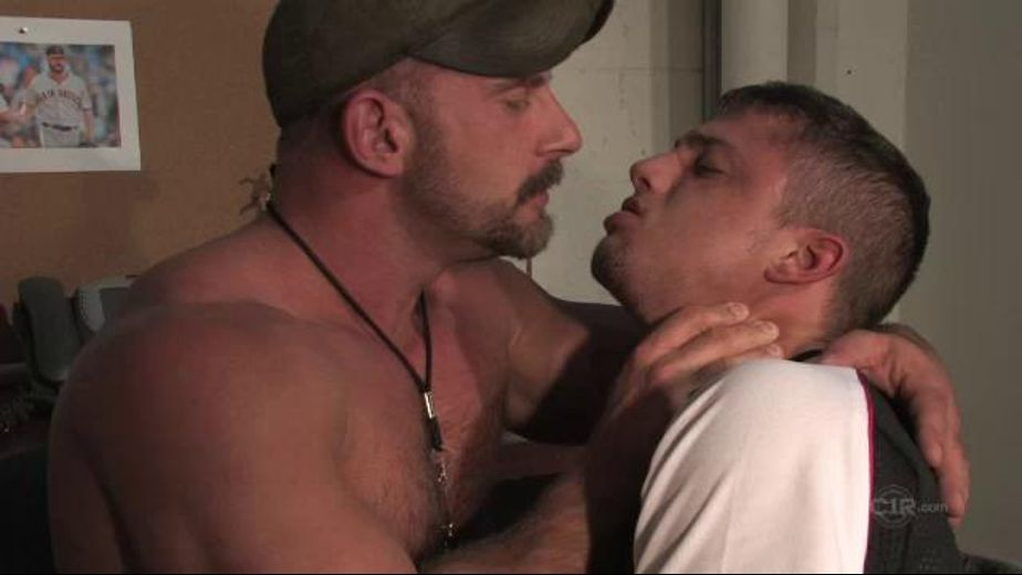 Psycho Coach Gets a Blowjob, starring Samuel Colt and Chris Porter, produced by Rascal Video and Channel 1 Releasing. Video Categories: Muscles, Blowjob, Jocks and Bear.