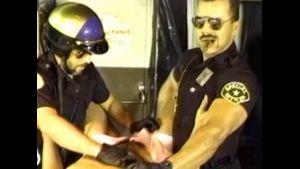 Cops Gangbang Poolhall Smartass.