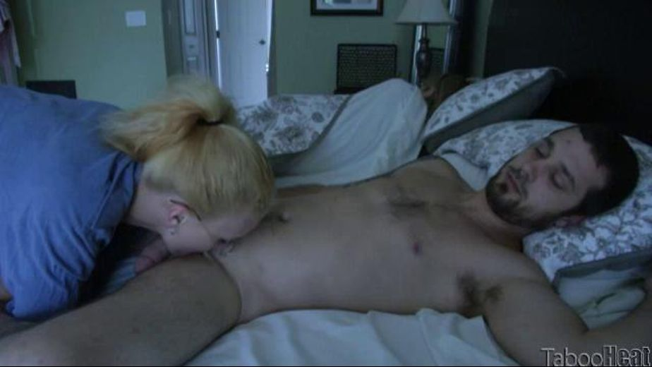 Mommy's Asleep So Daughter Will Play, starring J.C. Simpson and Billy Blast, produced by Taboo Heat. Video Categories: Amateur, Blondes and Small Tits.