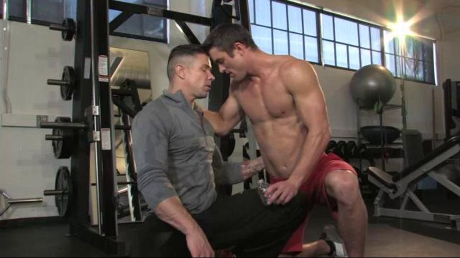 A Workout Gets The Hormones Pumping, starring Trenton Ducati and Ryan Rose, produced by Falcon Studios and Falcon Studios Group. Video Categories: Muscles.