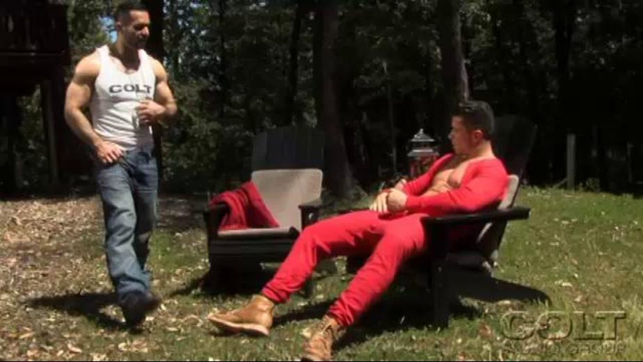 Private Encounter in a Clearing in the Forest, starring Trenton Ducati, produced by COLT Studio Group. Video Categories: Safe Sex, Bear, Uncut and Muscles.