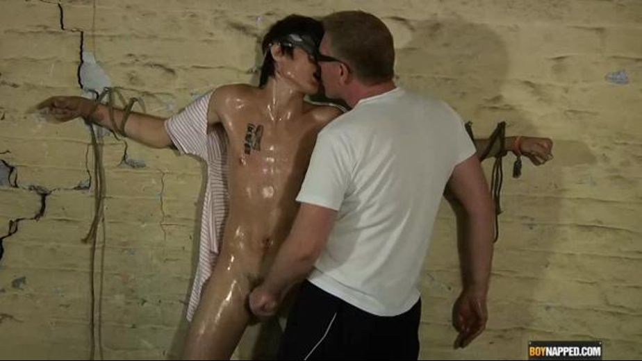 Oily Johnny Tied to the Wall, starring Sebastian Kain and Johnny Carlisle, produced by BoyNapped. Video Categories: Masturbation, Fetish, College Guys, Euro, Mature and BDSM.