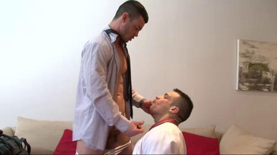 White Collar Breeding, starring Adriano Carrasco and Fernando Torres, produced by Lucas Entertainment. Video Categories: Muscles and Safe Sex.