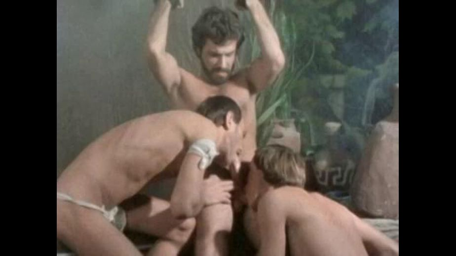 Man With A Beard Tied Up and Sucked, produced by Bijou Gay Classics. Video Categories: Threeway, Muscles, Classic and Bear.
