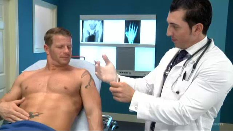 Dr. Jimmy's Unusual Practice, starring Jeremy Stevens and Jimmy Durano, produced by Falcon Studios Group and Hot House Entertainment. Video Categories: Muscles, Safe Sex and Uncut.