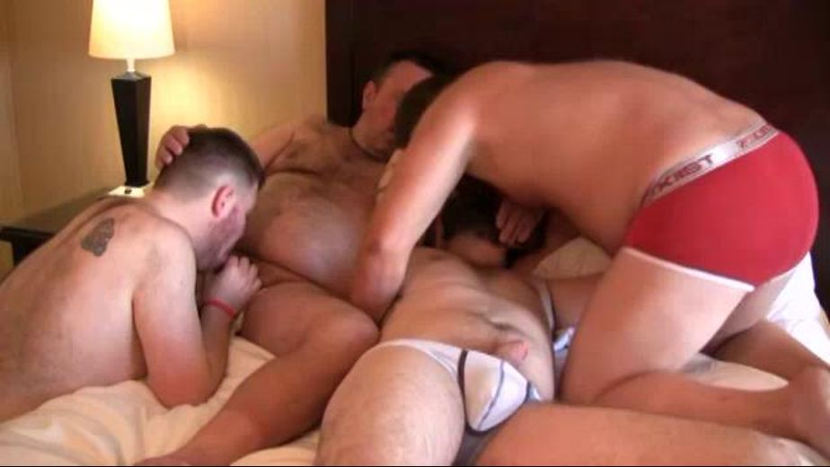 XXXLarge Bears in a PIle, starring Leo Stone, Nolen Richards, Franklin Cubbington and Kit Montana, produced by Bear Films. Video Categories: Blowjob, Amateur, Orgies, Bear and Mature.