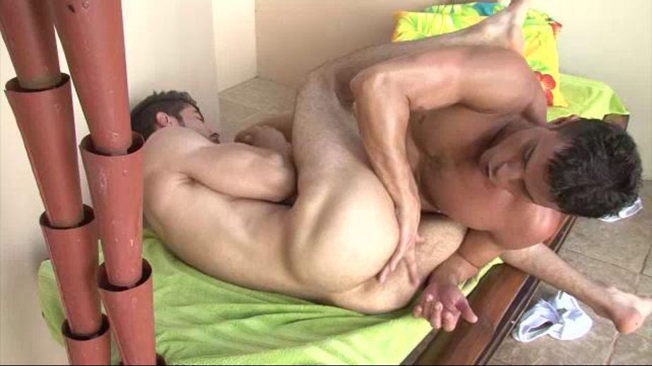 Latin Guys on a Field of Green, starring Rafael Carreras and Marco Troper, produced by Lucas Entertainment. Video Categories: Anal, Latin, Muscles and Safe Sex.