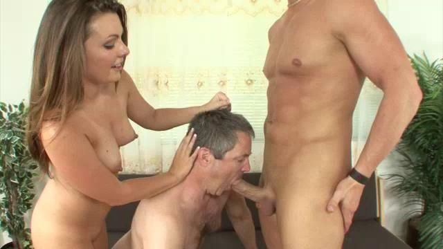Simply magnificent sucking hubby cum entertaining