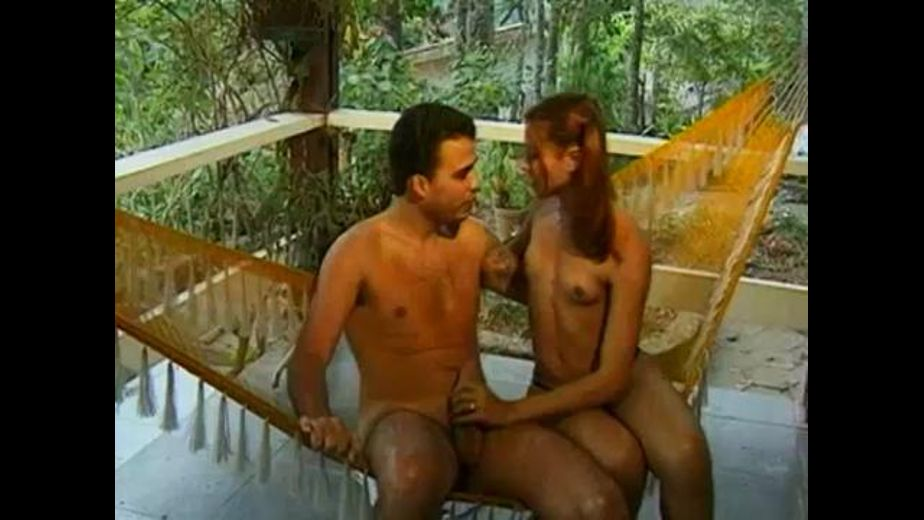 Brazilian Tranny Jungle Hammock Sex, produced by Goldwin. Video Categories: Anal, Latin, Redheads, Transgender, Small Tits and Blowjob.