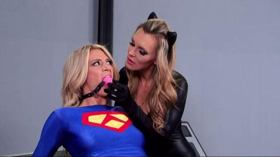 Dont Foil Her Evil Plans, starring Tanya Tate and Amanda Tate, produced by Filly Films. Video Categories: BDSM, Fetish and Lesbian.