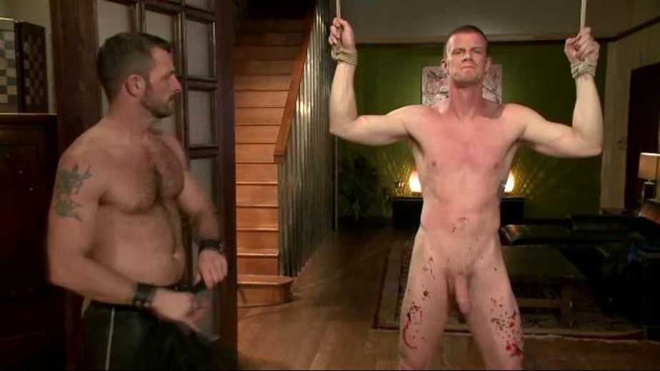Sucking Cock and Getting Flogged, starring Blake Daniels and Morgan Black, produced by KinkMen. Video Categories: Fetish, Safe Sex, Blowjob, BDSM and Muscles.