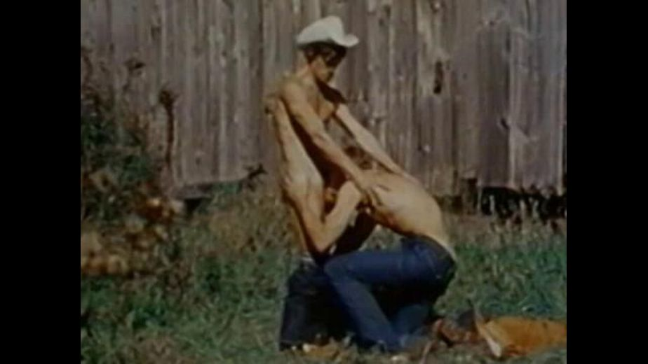 Courtin'  a Cowboy In the Field, starring Bo Gantry and Dak (m), produced by Bijou Gay Classics. Video Categories: Muscles and Classic.