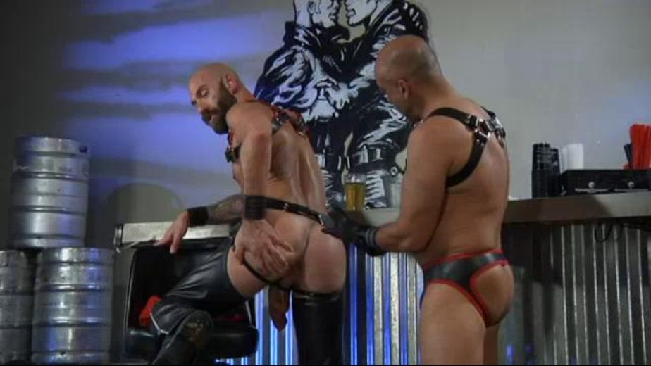 Seasoned Leather Pigs Fist Holes, starring Brian Davilla and Drew Sebastian, produced by Hot House Entertainment, Falcon Studios Group and Club Inferno. Video Categories: Muscles, Leather, Anal, Pigs and Fetish.