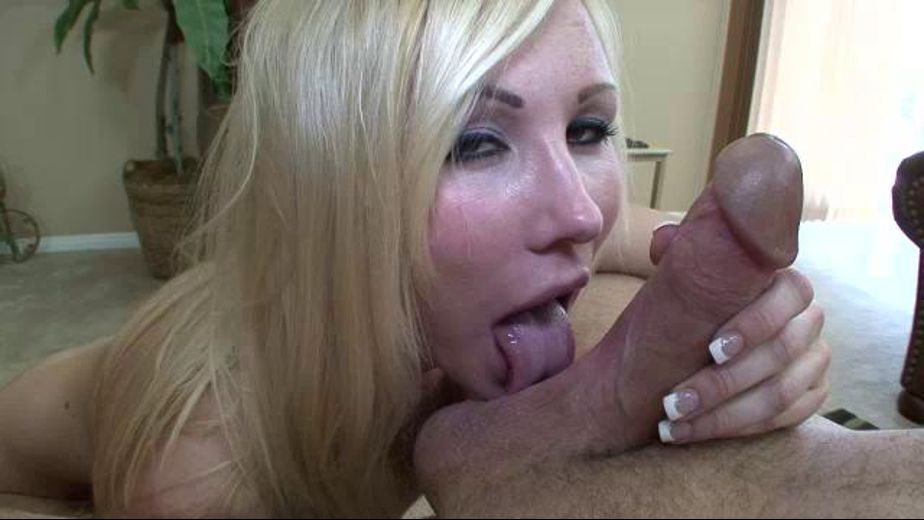 Hot blonde bimbo sucking cock, starring Elle Woods, produced by Swallow Guide. Video Categories: Gonzo, Blowjob, Big Tits and Blondes.