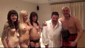 Porno Dan Hooks Up The Tubby Professor.