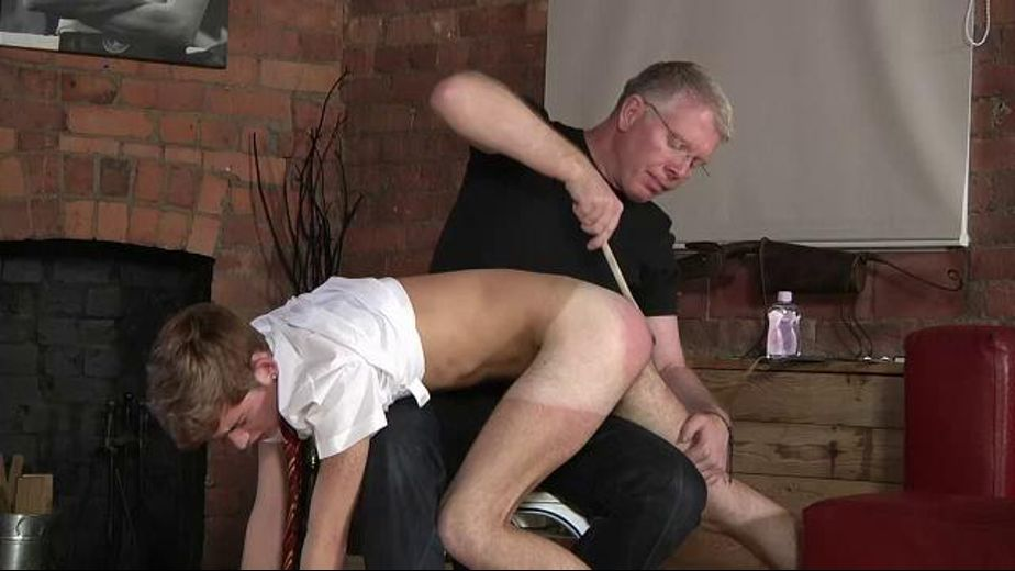 Schoolboy Jacob Gets Spanked by the Teacher