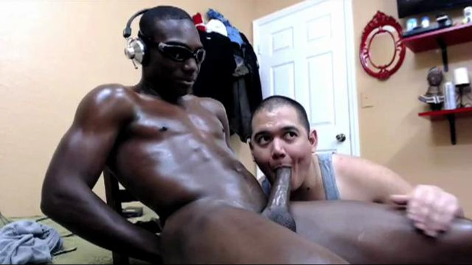 Dark, Straight and All Oiled Up, produced by Trax Action. Video Categories: Big Dick, Blowjob, Black, Str8 Bait and Amateur.