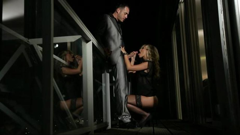 Hot make out and blow job on a balcony, starring James Brossman and Lola Reve, produced by Marc Dorcel and Marc Dorcel SBO. Video Categories: Blowjob and Blondes.
