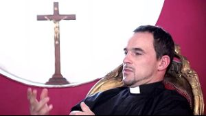 Priest Forgives Sins While They Are Committed.