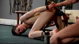 Twink Gets to Have Lots of Anal Toys.