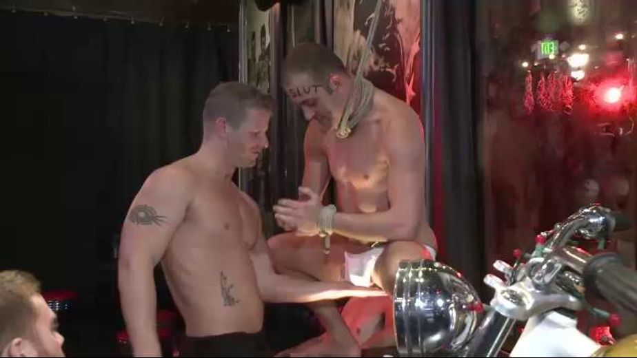 Slutty Go-Go Dancer Abused in Front of a Crowd, starring Everett Jagger, produced by KinkMen. Video Categories: Muscles, Fetish, BDSM, GangBang and Safe Sex.
