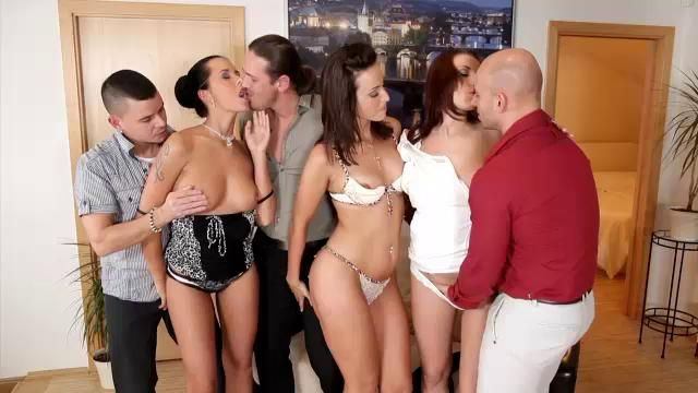 Orgy and couples theme simply