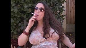 Cigarette smoker.