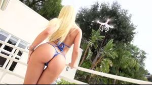 Flashing Ass For the Porn Drone Cam!.