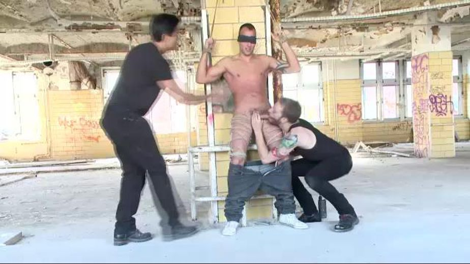 Three Boys Tied Up are Better Than One, starring Jimmy Visconti, Jason Visconti and Joey Visconti, produced by KinkMen. Video Categories: Blowjob, Euro, Str8 Bait, BDSM and Fetish.