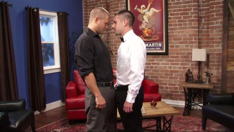 The Eyeball Transaction Negotiation, starring Bobby Clark and Dylan Knight, produced by Falcon Studios Group and Falcon Studios. Video Categories: Blowjob.