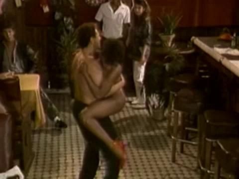 Dance floor orgy