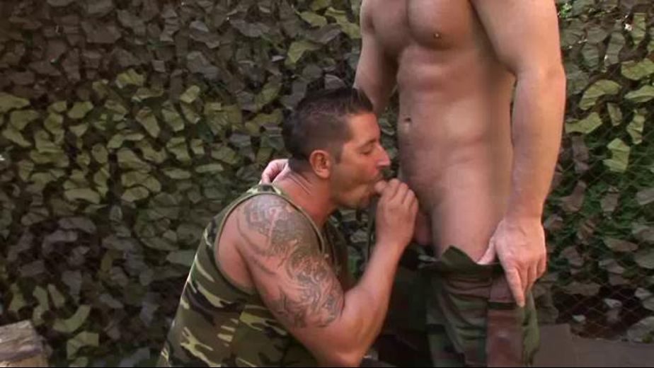 On Your Knees, starring Rick Bauer, produced by Elite Male. Video Categories: Military, Safe Sex, Euro and Muscles.