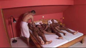 Visconti Triplets in a Dorm.