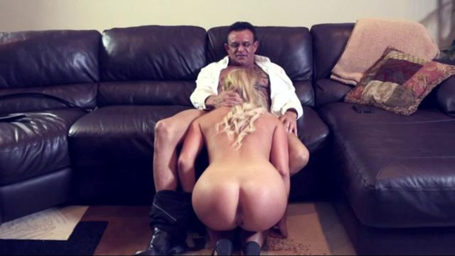 Blondie gets blackmailed and nailed, starring Payton Simmons, produced by Forbidden Fruits Films. Video Categories: Blondes.