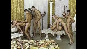 Arabian Men Having a Fuck Orgy.