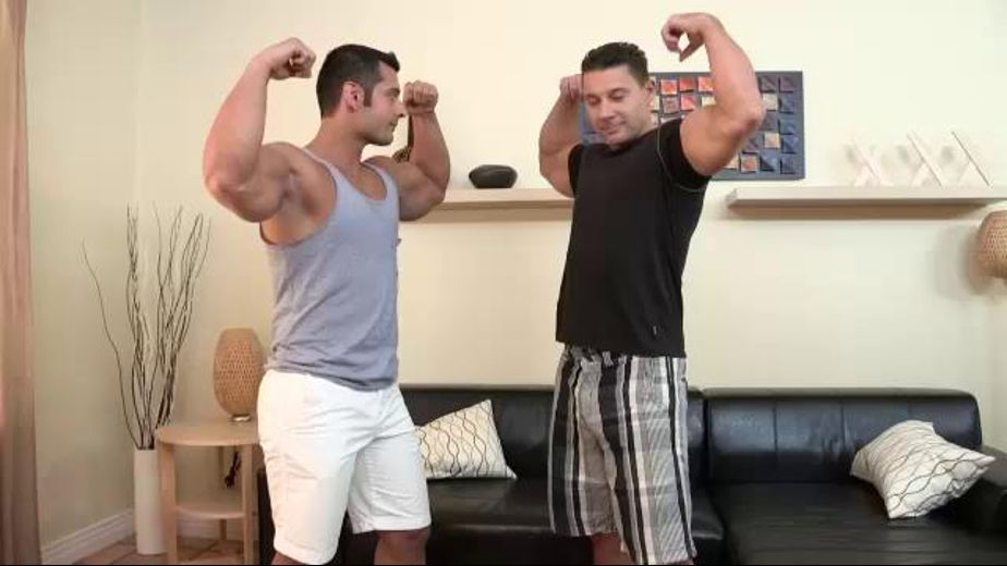 Fired Up for Foreskins and Muscles, starring Robert Van Damme and Marcus Ruhl, produced by Cocksure Men and Jake Cruise Media. Video Categories: Latin, Muscles, Uncut, Blowjob and Safe Sex.
