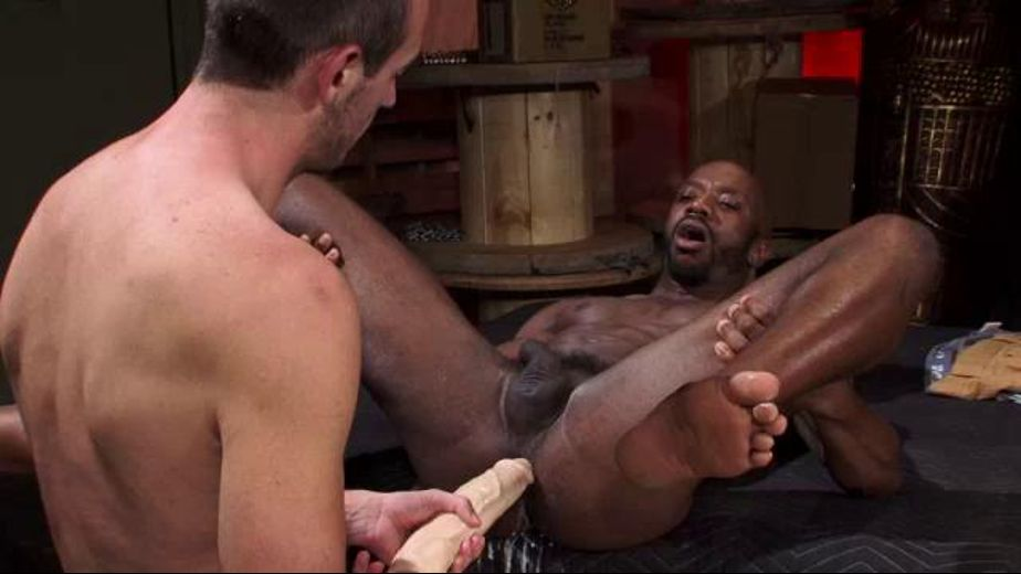 Stretch the Hole with the Massive Dildo - Prepare to Fist, starring Race Cooper and Byron Saint, produced by Raging Stallion Studios, Fisting Central and Falcon Studios. Video Categories: Fetish, Anal, Interracial and Muscles.