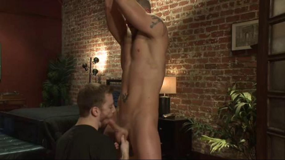 Suspended and Blown Plus Toys, starring Jeremy Stevens and Sebastian Keys, produced by KinkMen. Video Categories: Muscles, BDSM, Masturbation, Blowjob and Fetish.