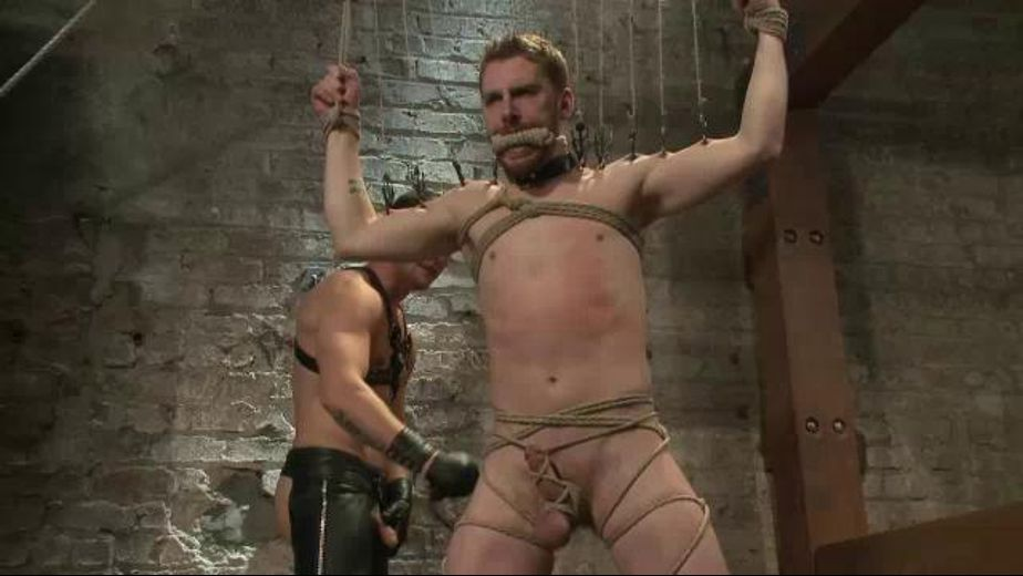 Bound Slave Brutally Tortured, starring Sebastian Keys and Hayden Richards, produced by KinkMen. Video Categories: BDSM, Fetish, Muscles, Anal and Leather.