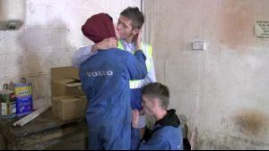Secret Repair Session in The Volvo Garage.