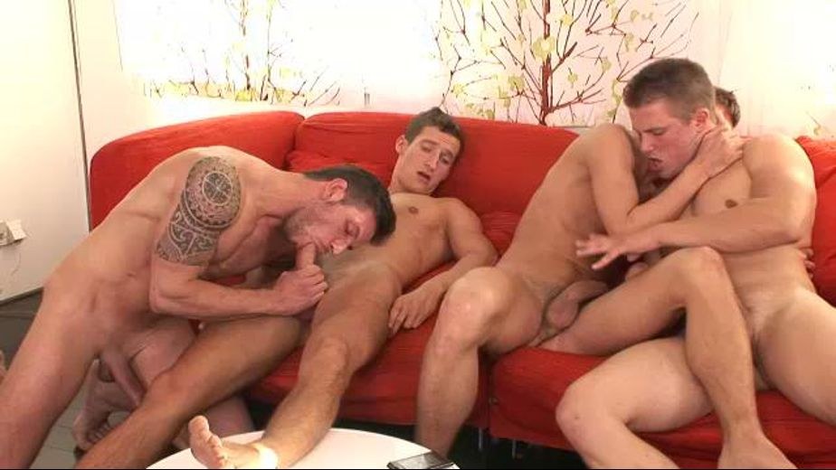 Prague Wank Party, produced by William Higgins. Video Categories: Bareback, Euro and Blowjob.