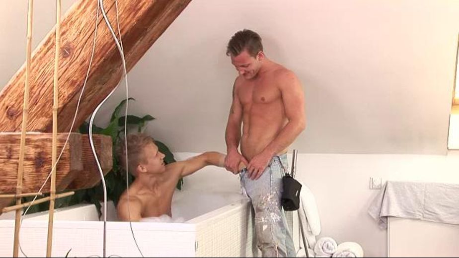 Playing with the plumber's pipe, starring Ivan Cakovsky and Libor Bores, produced by William Higgins. Video Categories: Muscles, Blowjob, College Guys, Fetish, Bareback and Euro.