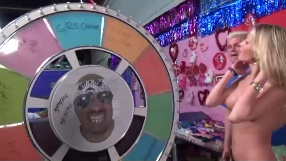 Wheel of fortune for sluts, starring Porno Dan and Laura Crystal, produced by Immoral Productions. Video Categories: Gonzo.