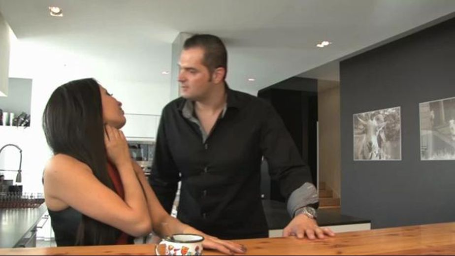 Husband stepped out, starring Anna Polina, produced by Private Media. Video Categories: Big Dick and Cuckold.