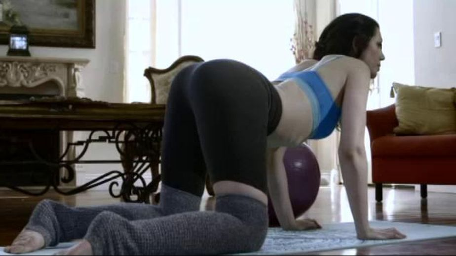 Yoga Princess Bang, starring Sarah Shevon and Logan Pierce, produced by Zero Tolerance.