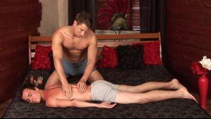 Hot Massage By Fine Boy Stud.