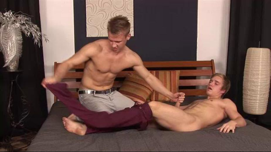 Buff Boys Blown, starring Libor Bores and Ivan Mraz, produced by William Higgins. Video Categories: Muscles, College Guys, Euro, Blowjob and Bareback.