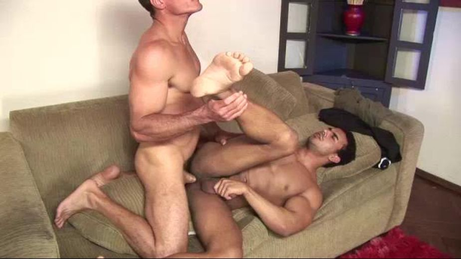 Interracial Muscles Guys Fucking on the Couch, produced by Alkaline Productions. Video Categories: Interracial, Anal, Euro and Muscles.